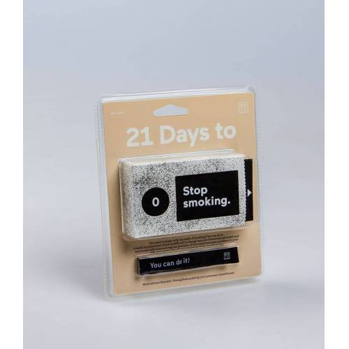 DOIY Gadgets 21 Days To Stop Smoking Wit