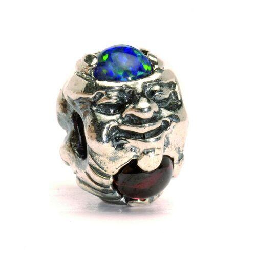 Trollbeads TAGBE-00088 Kraal Troll met edelstenen zilver