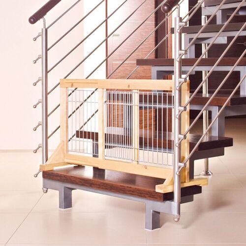 Trixie - Hoogte 50 cm, breedte 63 tot 108 cm - Trixie Honden Traliehek