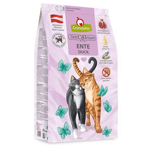 GranataPet DeliCatessen Adult Eend Kattenvoer - Bestel ook natvoer: 6 x 200 g GranataPet DeliCatessen - Eend & Tonijn