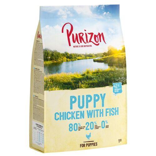 Purizon Puppy Kip met Vis graanvrij Hondenvoer 12 kg
