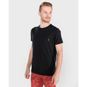 Scotch & Soda T-shirt zwart Heren Heren