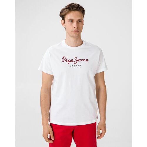 Pepe Jeans Eggo T-shirt wit Heren Heren