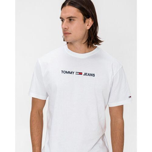 Tommy Jeans T-shirt wit Heren Heren