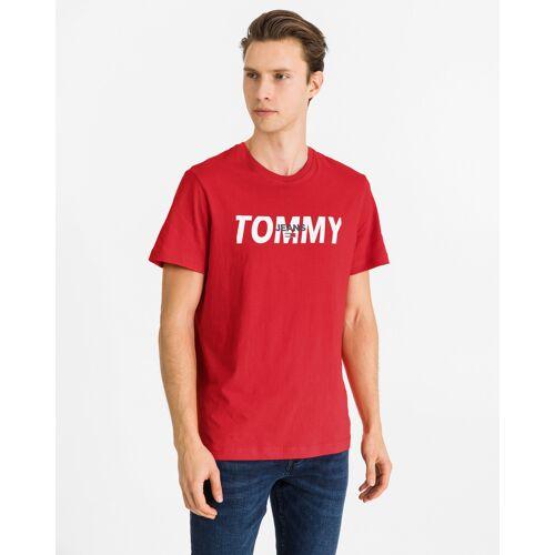 Tommy Jeans T-shirt rood Heren Heren