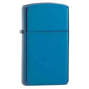 Zippo originele Zippo Aansteker Slim Sapphire _ Parent, blauw