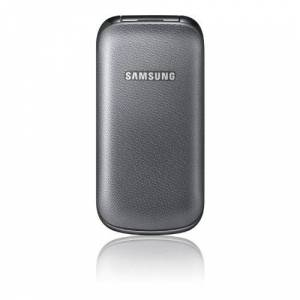Samsung E1190mobiele telefoon (3,6cm (1,43inch) Display, Dual band) Titanium Gray
