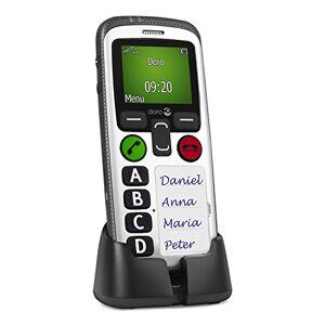 Doro Secure 580gsm mobiele telefoon (4en, sicherheitstimer) Zwart-Wit
