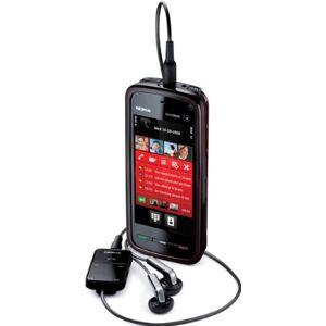 Microsoft Nokia 5800 XpressMusic (GPS, WLAN, UMTS, 3,2 MP) Mobiele telefoon, rood