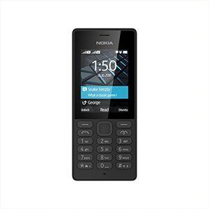 Nokia 150 Single Sim mobiele telefoon, 6,1 cm (2,4 inch), zwart