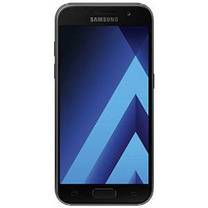 SM-A320F Samsung Galaxy A3 Smartphone, uit 2017, 4,7 inch, 12,04 cm, touch-display, 16GB geheugen, Android 6.0, zwart, zwart