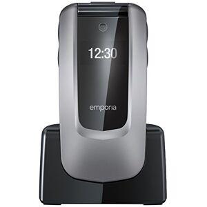 Emporia klepmobiel, gebruiksvriendelijk, 2MP-camera, noodoproepfunctie