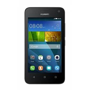 Y360-U61 Huawei Y360-U61 smartphone (11,43 cm (4,5 inch) IPS-display, 1,3 GHz quadcore-processor, 5 megapixel-camera, 4 GB intern geheugen, Android 4.4), zwart