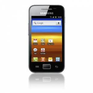 Samsung Galaxy ACE s5830i smartphone (8,9 cm (3,5 inch) Display, Touchscreen, 5 Megapixel camera, Android 2.3) Onyx-Zwart