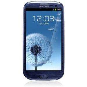 GT-I9300MBDDBT Samsung Galaxy S III i9300 Smartphone (4,8 inch (12,2 cm), touchscreen, 16 GB-geheugen, Android 4.0), kiezelblauw