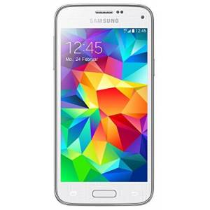Samsung Galaxy S5mini smartphone (11,43cm (4,5inch) Touchscreen, 8Megapixel-camera, 1,4-GHz-Quad-Core-processor, Android 4.4), 16 gb, wit