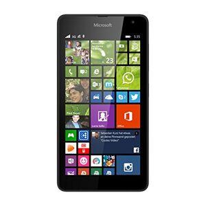 6438158701274 Microsoft Lumia 535 Smartphone (5 Zoll (12,7 cm) Touch-Display, 8 GB Speicher, Windows 8.1) schwarz