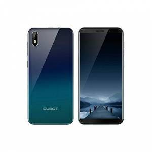 CUBOT J5 16GB mobiele telefoon, blauw/groen, Gradient, Dual SIM, Android 9.0 (Pie)