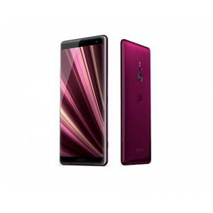 Sony Xperia XZ3 Smartphone (15,2 cm (6 inch) OLED-display, Dual-SIM, 64 GB intern geheugen en 4 GB RAM, BRAVIA TV technologie, IP68, Android 9.0) - Duitse versie, 64 gb, bordeaux rood.