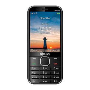 MaxCom seniorenmobiele telefoon zonder contract GSM MM330 3G zwart