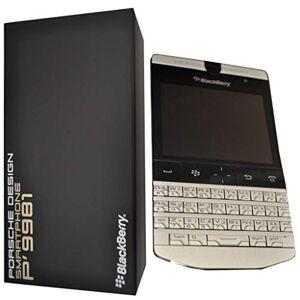 Blackberry Porsche Design P '9981smartphone van BlackBerry (7,1cm (2,8inch) Touchscreen, 5Megapixel camera, QWERTZ-toetsenbord) Zilver
