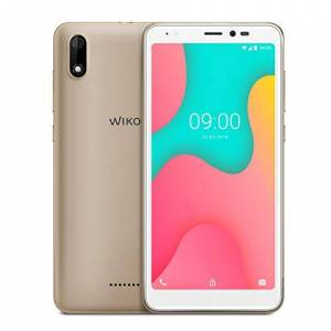 WIKO Y60 Smartphone, 5,45 inch (13,8 cm), 16 GB ROM + 1 GB RAM, dual camera, 18:9 Display, 4G, Dual-SIM, Android 9.0 Pie Go, Gold