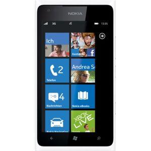 Microsoft Nokia Lumia 900 Smartphone (10,92 cm (4.3 Zoll) Touchscreen, 8 Megapixel Kamera, Windows Phone Mango OS) wei