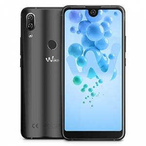 Wiko View 2 smartphone, (6 inch display, 32 GB intern geheugen, Android 8 Oreo), 64GB, antraciet