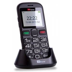 ttfone tt850 Jupiter 2 Big button Easy Senior Sim Free mobiele Phone with Dock Charger