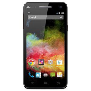 Wiko 9411RAINBOW 4G LTE smartphone (12,7cm (5inch) HD IPS-Display, 1,3GHz Quad-Core processor, 8Megapixel camera, 22-megapixel Front, 8GB Intern geheugen, 1GB RAM, Android 4.4.2Kit kat), zwart