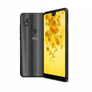 Wiko View 2 smartphone, (6 inch display, 32 GB intern geheugen, Android 8 Oreo), 32GB, antraciet