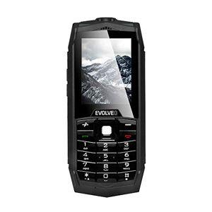 EVOLVEO SGP-Z1-B mobiele telefoon, 16 GB, 8 megapixel camera, Rugged Protective, waterproof, standaard zwart