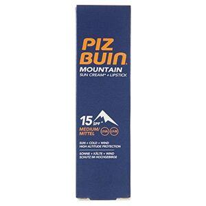 piz buin Mountain Combi, Cream en lipstick LSF 15, 2er Pack (2x 20ml)