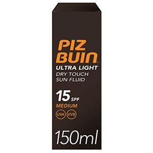 piz buin Ultra Light Dry Touch Sun Fluid spf15(Medium) 150ml 150ml