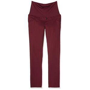 ESPRIT Maternity dames omstandbroek (Pants Otb Slim W178c101) - rood (Tawny Red 634), maat: 36W / 32L