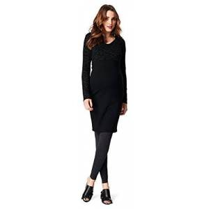 noppies Dames zwangerschapsleggings seamless legging OTB jaylinn - slim 40 (Maat van de fabrikant: M/L) zwart (black C270)