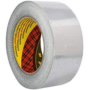 3M 1436 zachte aluminium tape, 50 mm x 50 m, zilver, 1 pak