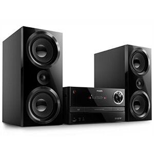 Philips BTB3370/12Mini-stereo-installatie met bluetooth (150watt, DAB+, FM, USB, bassreflex) zwart zonder digitale radio (DAB+) zwart