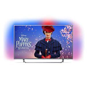 Philips Ambilight Led-tv, 4K Ultra HD, Triple Tuner, Smart tv 43 inch zilver