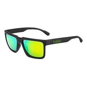 Bollé - Frank S3 (VLT 12%) - zonnebril - zwart/groen, maat: universele maat