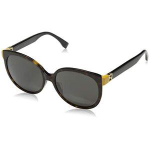 Fendi dames FF 0144/F/S TRD/8H zonnebril, bruin, 57