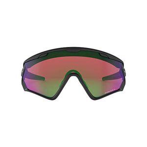 Oakley heren Wind Jacket 2.0 941801 zonnebril, zwart (Negro/Mate), 0