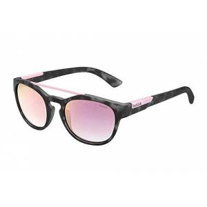Bollé Boxton Zonnebrillen Matte Black Tortoise Pink Medium Unisex - Volwassenen