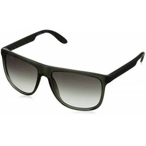 Carrera 5003 Rechthoekige zonnebril (Carrera 5003 Jj Ddl) - zwart (Grey Anth), maat: One-size