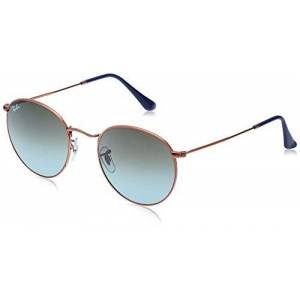 Ray-Ban heren ronde metalen zonnebril - 53