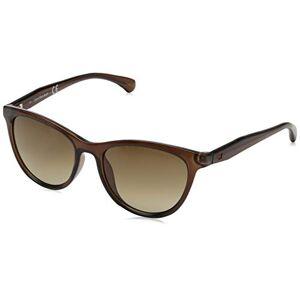 Calvin Klein 205W39NYC CKJ811S CKJ811S 203 52 rechthoekige zonnebril 52, CRYSTAL BROWN