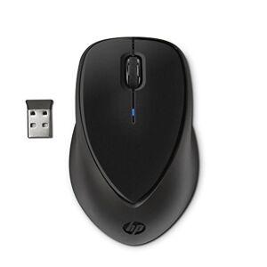 94365RT HP (h2l63aa) Draadloze muis (USB-Draadloos-Nano-Receiver met 2,4GHz, LED, USB-mikroempfänger, Comfort Grip) Zwart