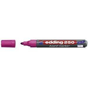 Edding whiteboardmarker 250, navulbaar, 1.5–3mm, Roze