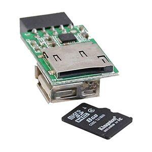 InLine 76638Card Reader interne voor microSD USB 2.0Kaarten
