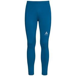 odlo Dames Tights sliq lange broeken, blauw, m
